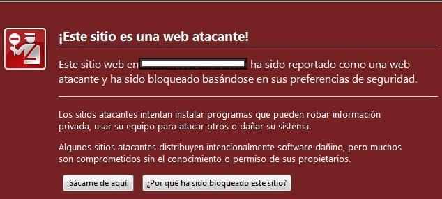 web atacante